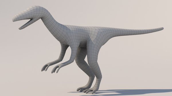 raptor base mesh 3ds