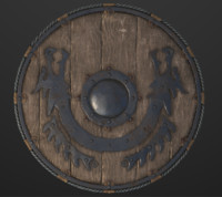 Viking Shield PBR