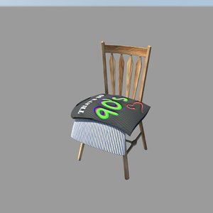 chair 3d obj
