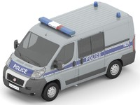 3d fiat ducato car model