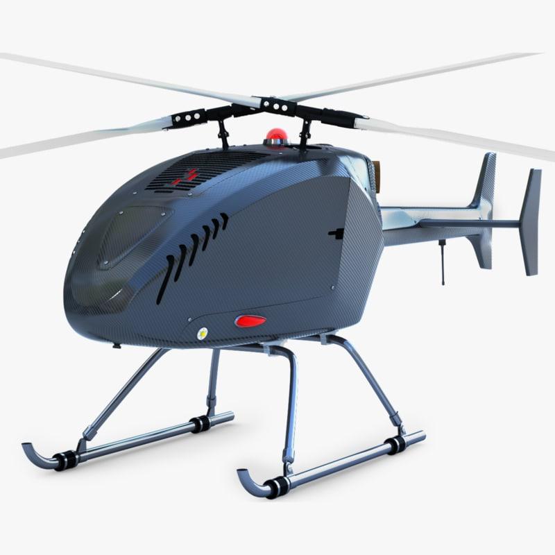 swiss drone 3d 3ds