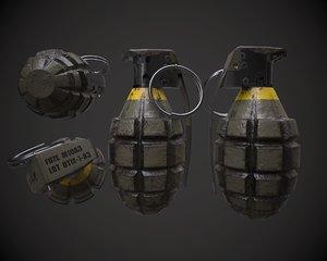 mk2 grenade fbx free