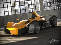 3d model bac mono garage