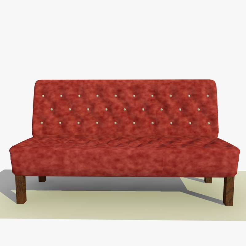 3d model chesterfield chair