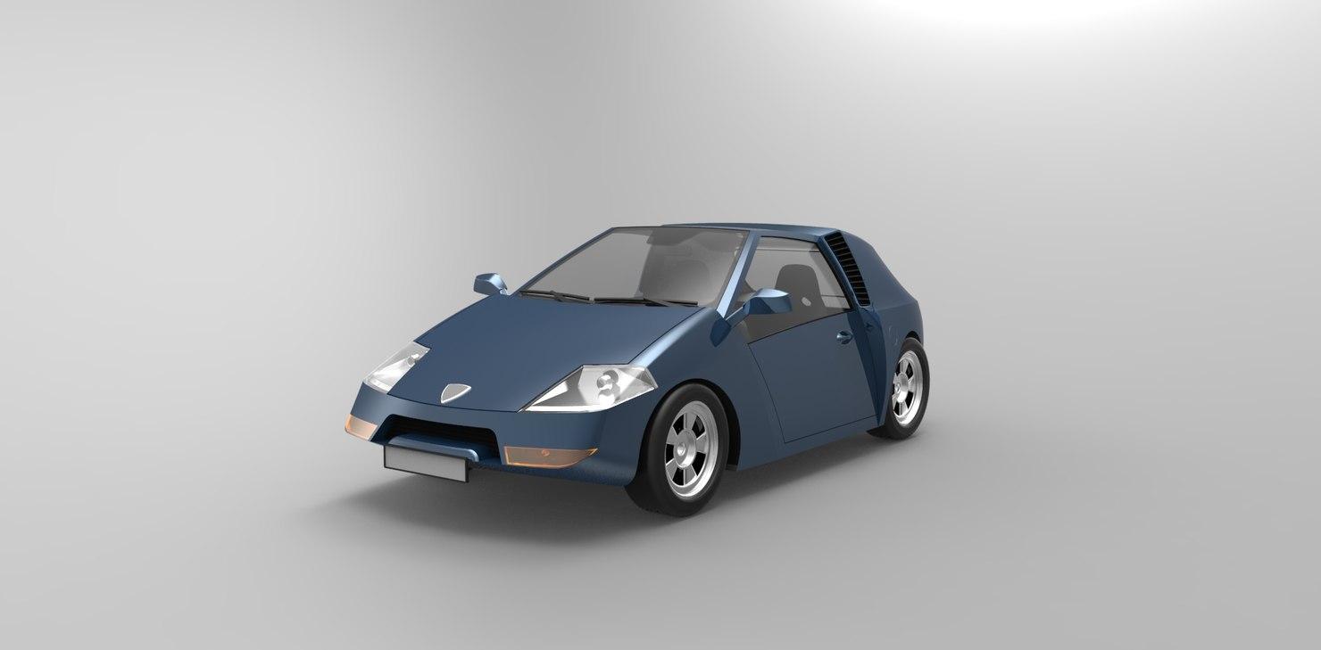 car sport obj