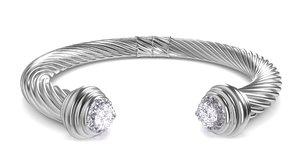 3d model jewel bracelet 2