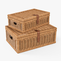 Wicker Basket 06 (Toasted Oat Color)