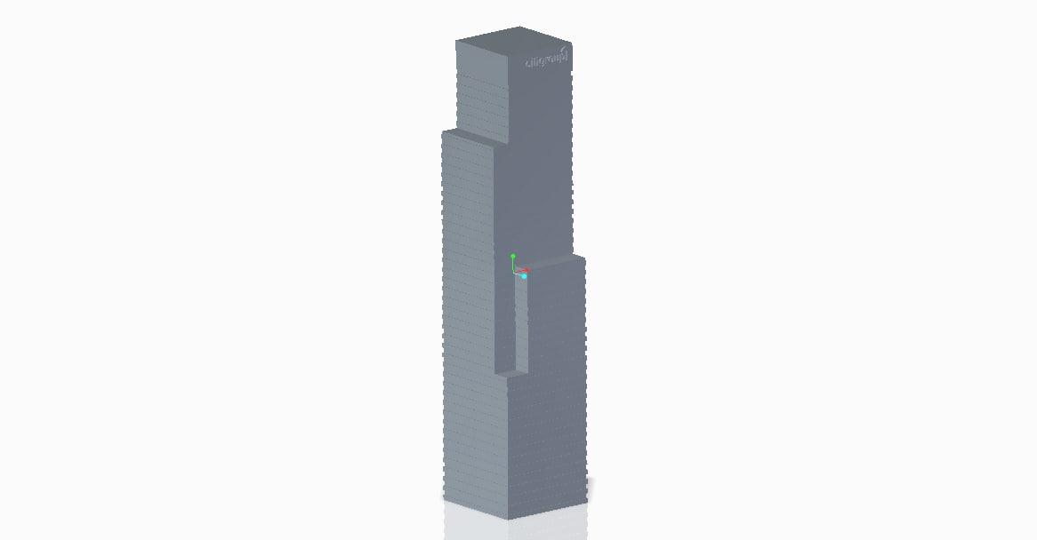 citigroup plaza 3d model