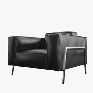 rolf benz bacio armchair 3d model