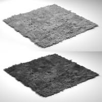 3d modern rug model