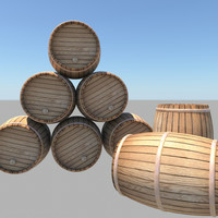 barrel bar 3d fbx