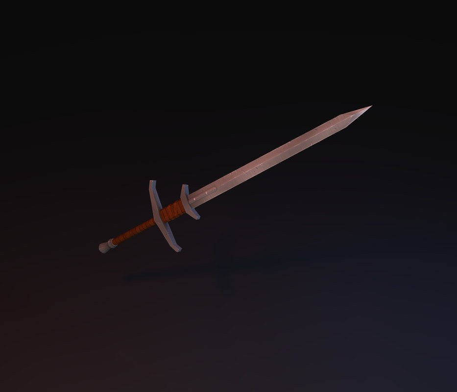 greatsword great sword 3d obj