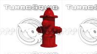 hidrante 3d model