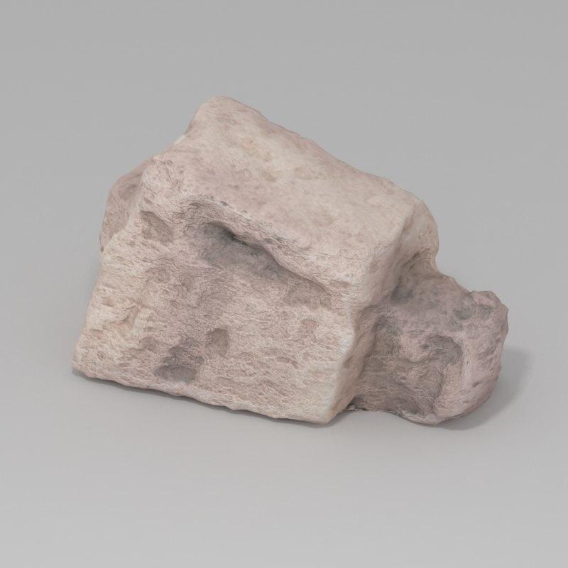 stone rock 3d model