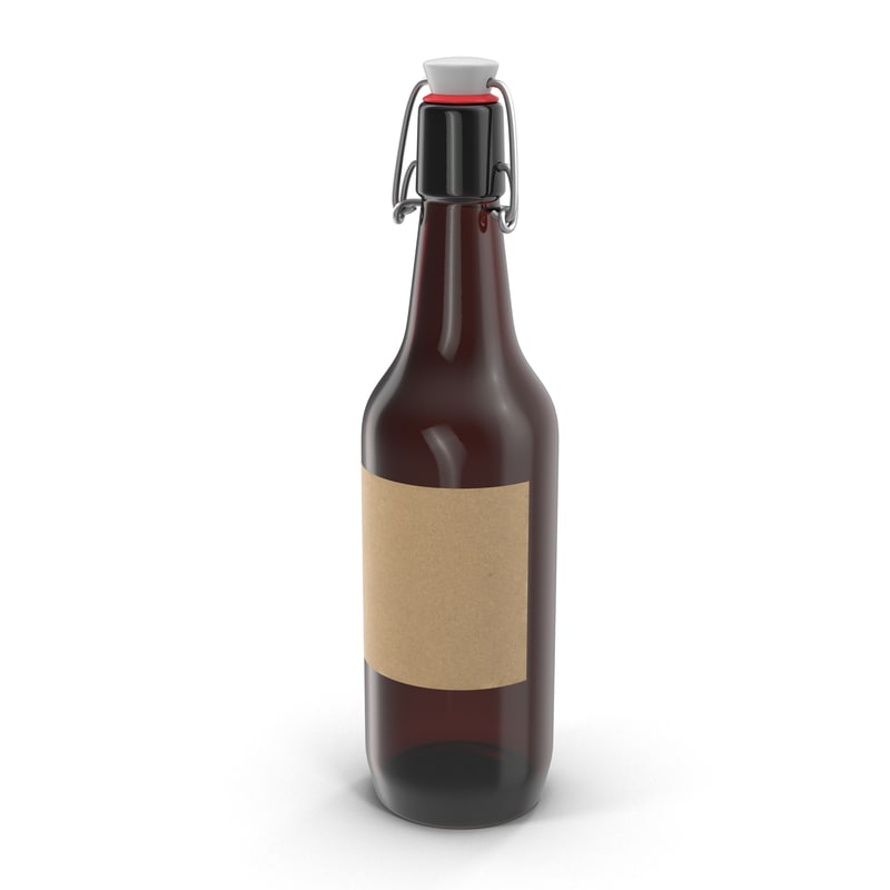 cold brew bottle 3d max