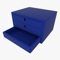cabinet collada dae 3d model