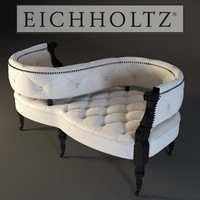 3d model eichholtz sofa