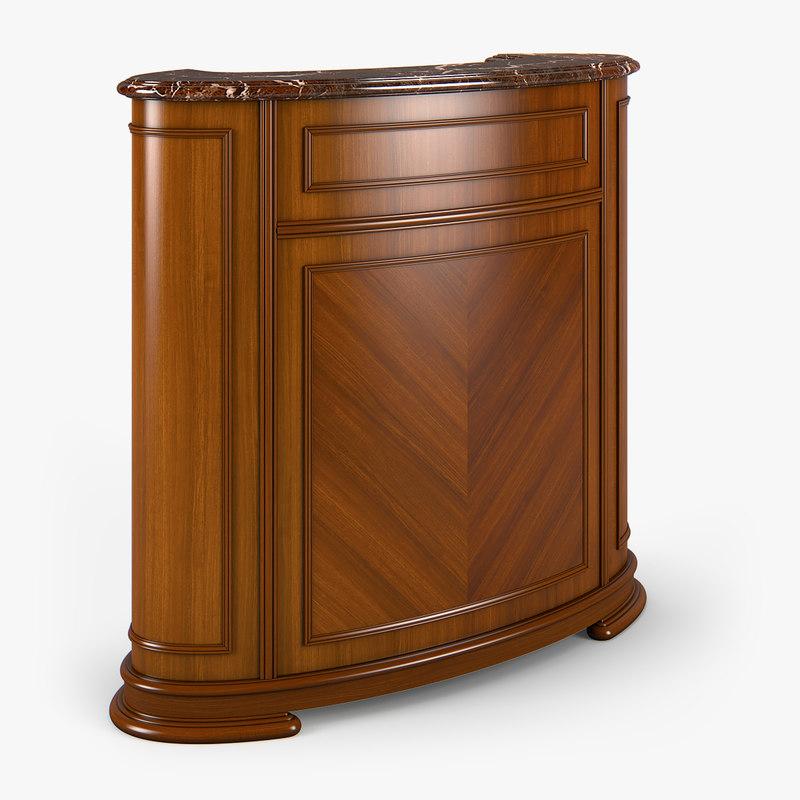 3d model 2660300 carpenter kursir bar table