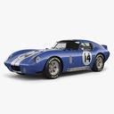 Daytona Cobra 3D models