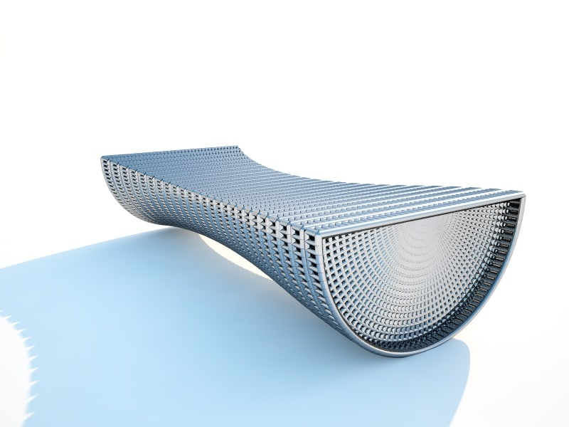 bench elements design 3d model