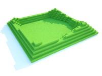 landscape element 3d model