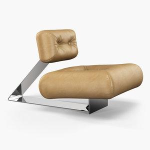 niemeyer aran club chair 3d max