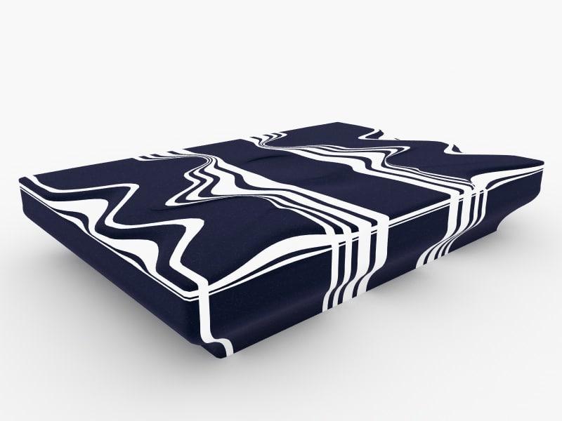 design modern sofa interior 3d model