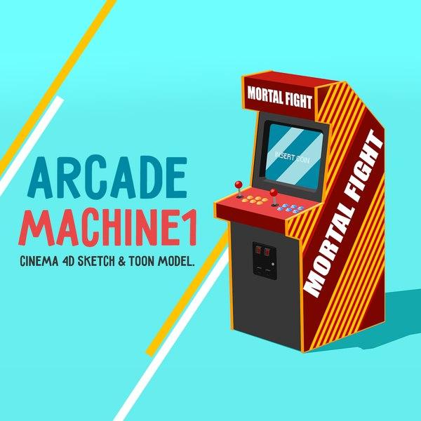 arcade machine 3d 3ds