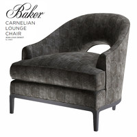 Baker CARNELIAN LOUNGE CHAIR 6180C