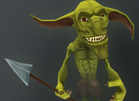 3d goblin monster model
