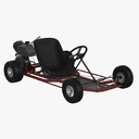 electric cart 3D models
