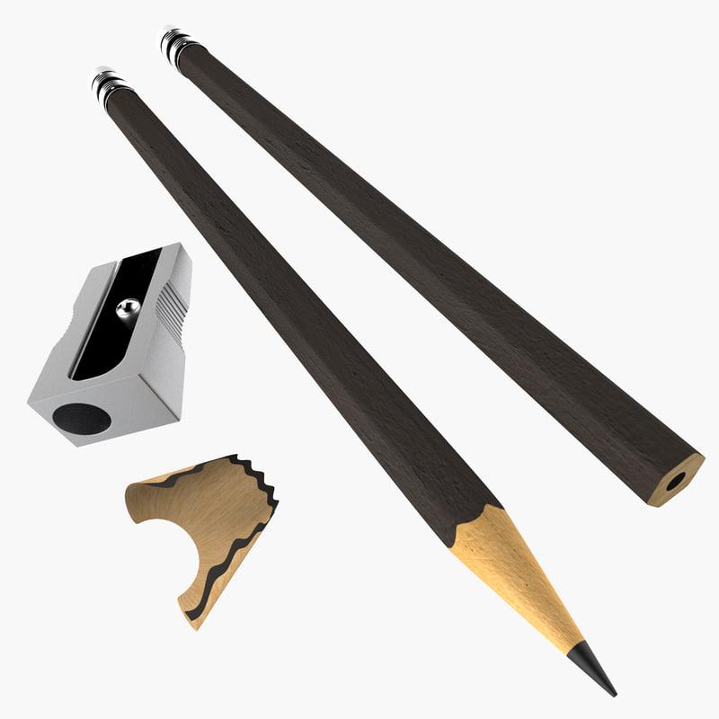 max wooden pencils sharpener