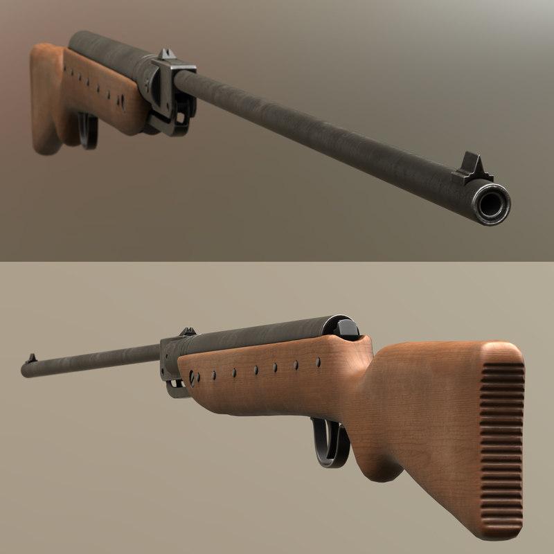 3d haenel iii-56 airgun knicker model