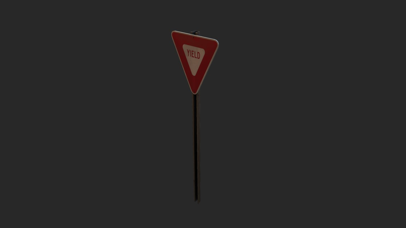 mutcd yield sign obj free