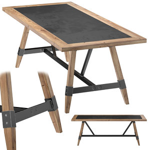 3d model table college
