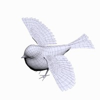 3ds small bird