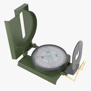 military compass obj