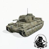 3d infantry tank matilda
