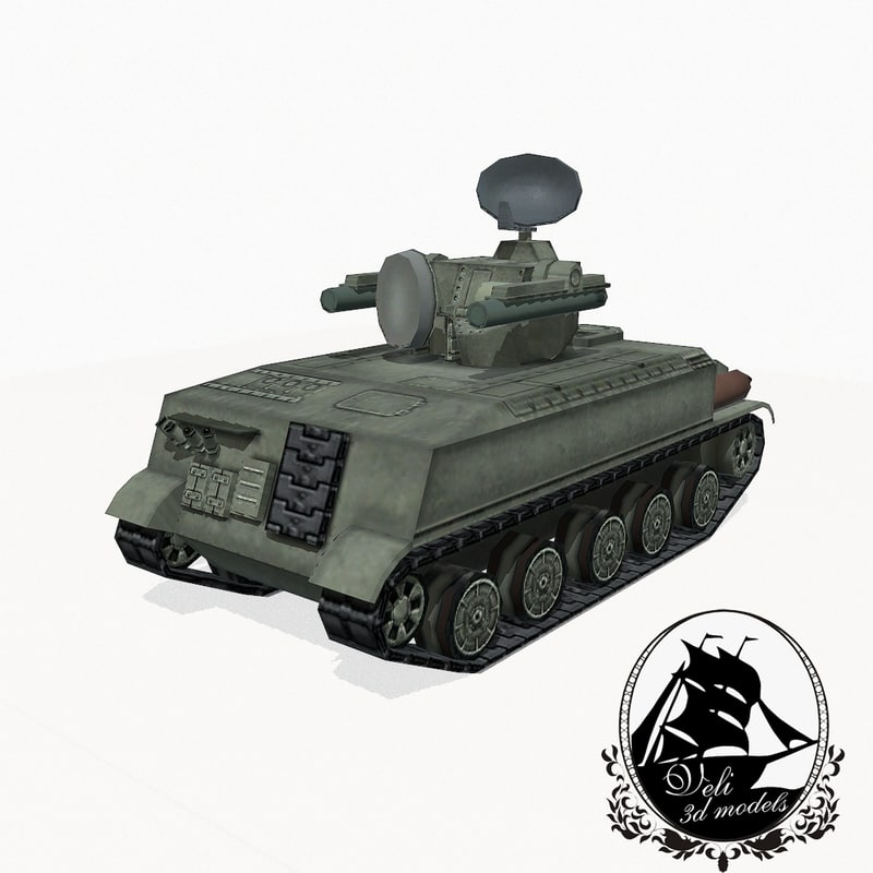 marder german infantry 3d model