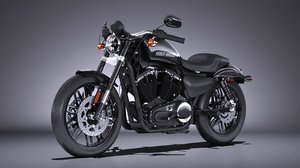harley davidson roadster 3d model