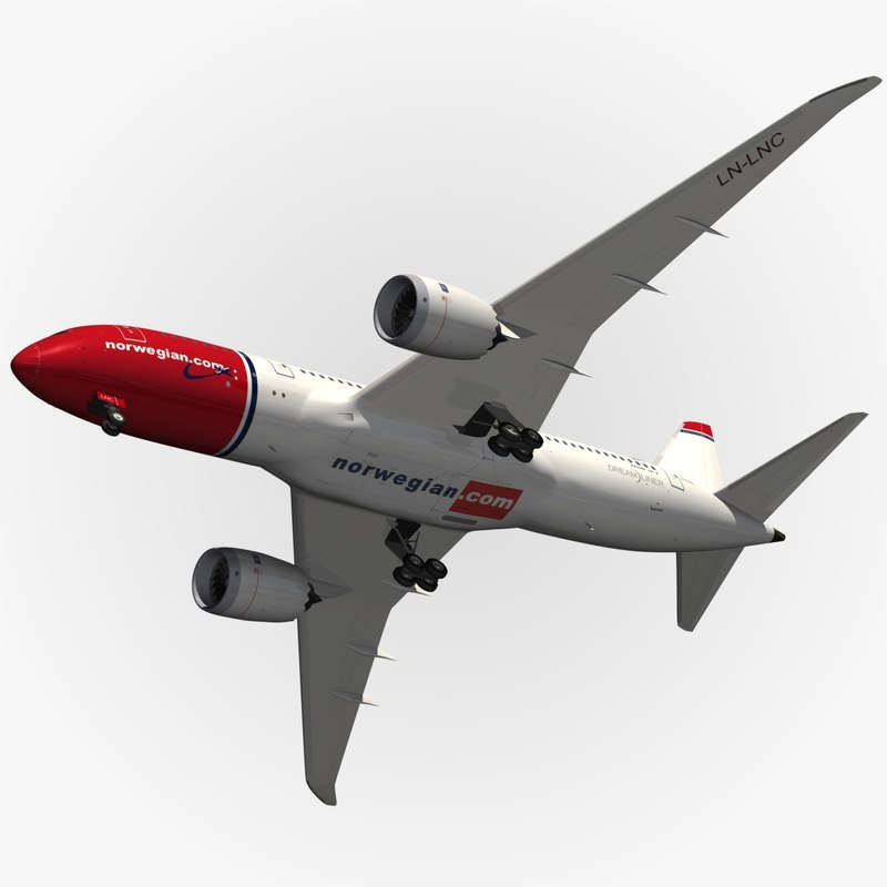 max b788 norwegian