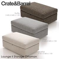 max lounge ii storage ottoman