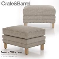 trevor ottoman 3d model