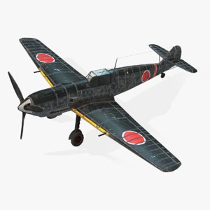 3d model aircraft messerschmitt bf 109e