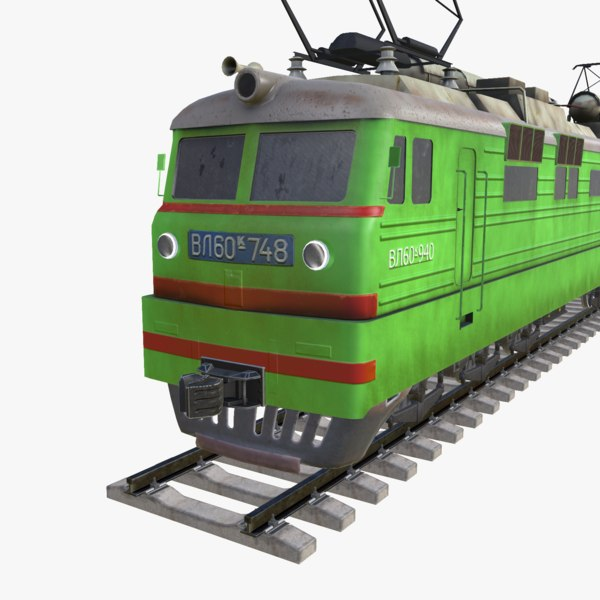 electric locomotive 3d x