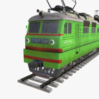 electric locomotive 3d x