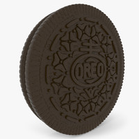 oreo cookie 3d max
