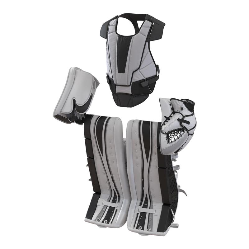 max hockey goalie protection kit