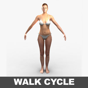 3d model cammie realistic female
