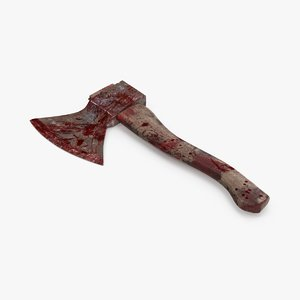 bloody hatchet 3d max